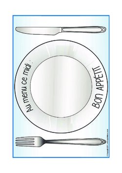 Au menu ce midi