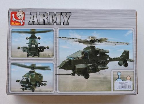 SLUBAN - Hélicoptère Apache (158 pièces)