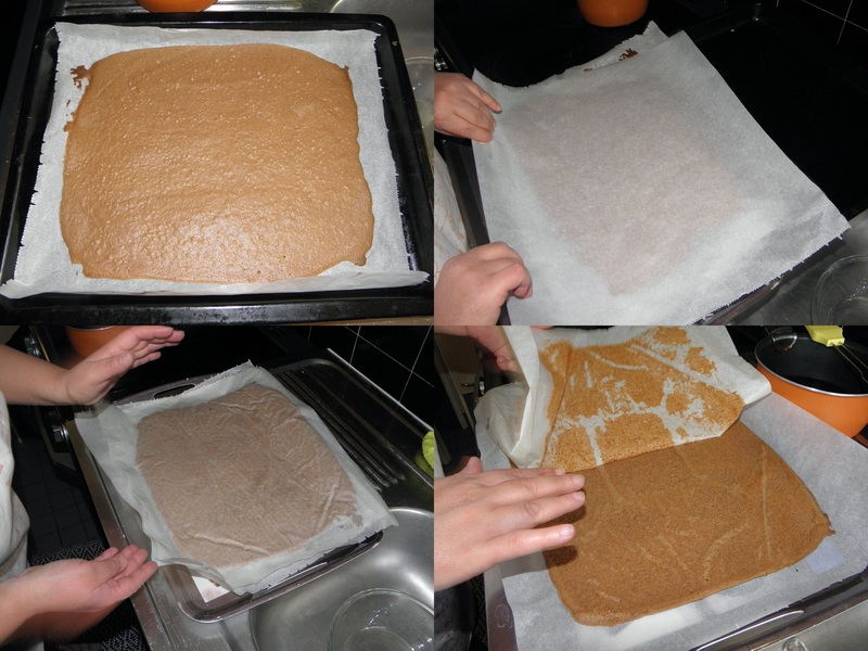 Gâteau au chocolat et à la crème de noisette
