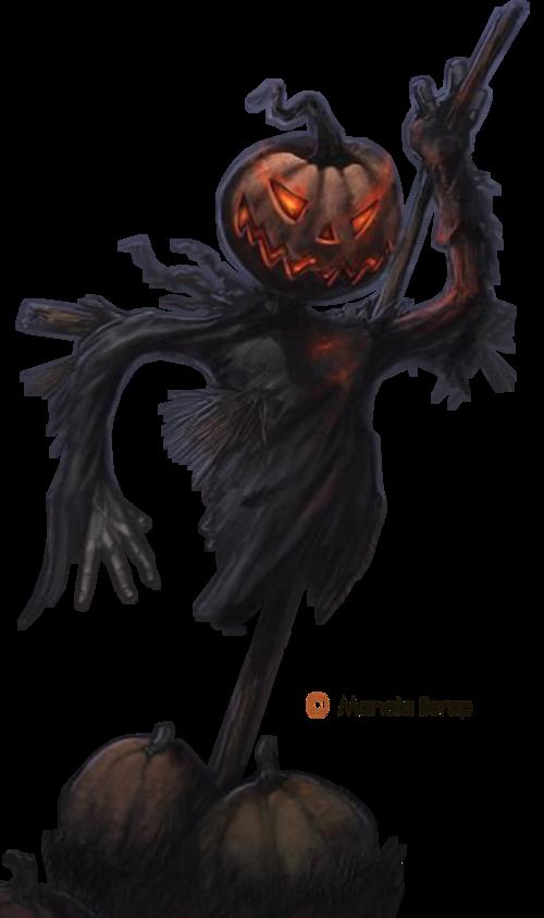 Tubes Halloween page 13 - les épouvantails