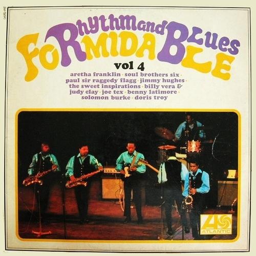 "Série  "" Formidable Rhythm & Blues Vol 4 "" Atlantic Records 0820170 [ FR ]"