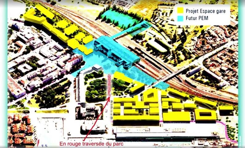 La mobilisation du parc Alsace en face la Gare continue..!