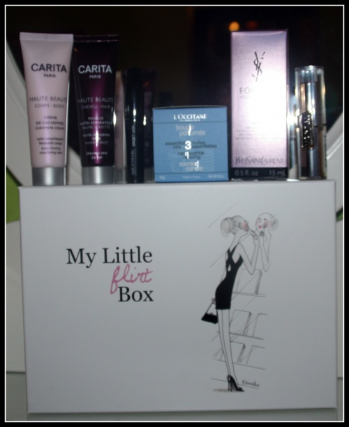 Nat : MyLittle box de février : MyLittleFlirtBox