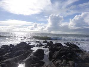 Une journée plage sous le soleil d'hiver