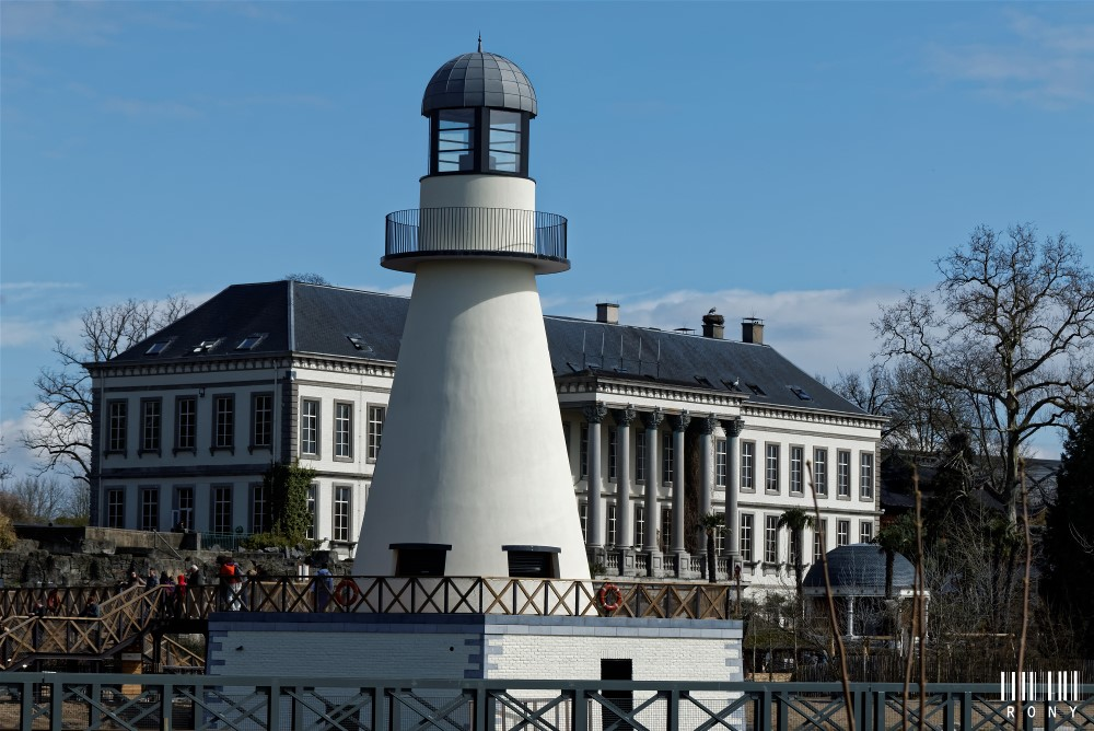 Le phare de Pairi Daiza