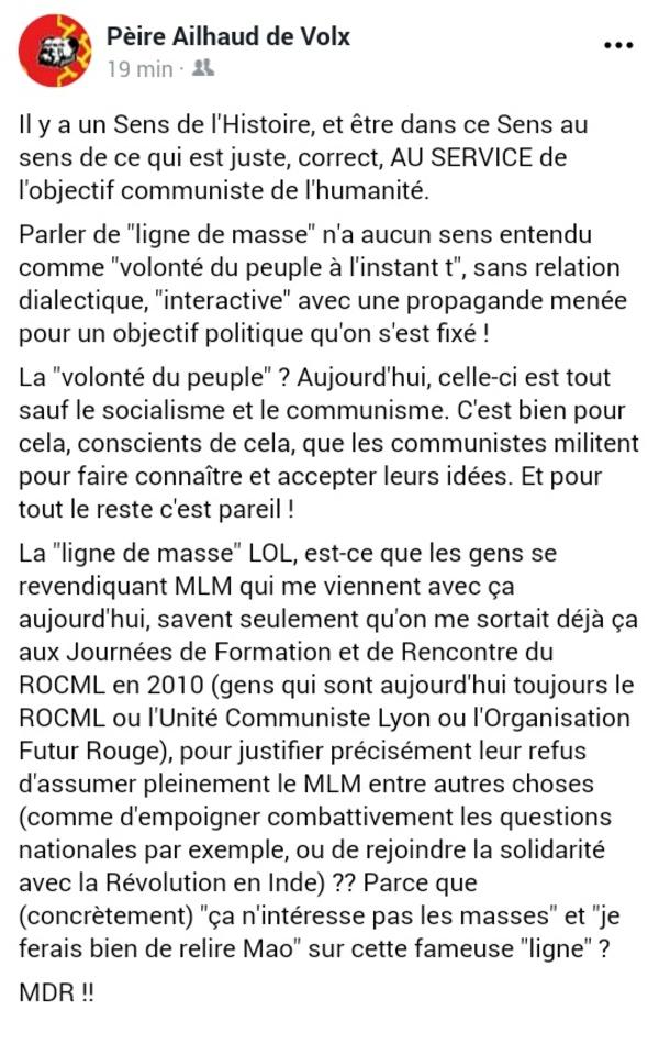 Punchlines FB : #DeLaPratique #LigneDeMasse
