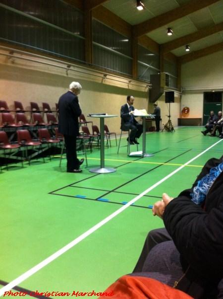 Les meetings pour les élections municipales à Châtillon sur Seine, vus par René Drappier et Christian Marchand