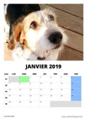 mon beau calendrier