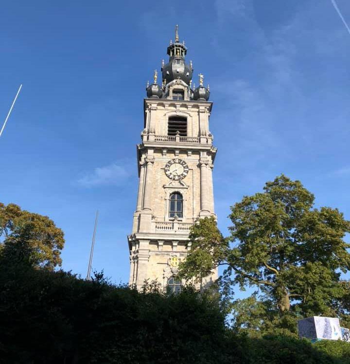 Collégiale Sainte-Waudru de Mons.