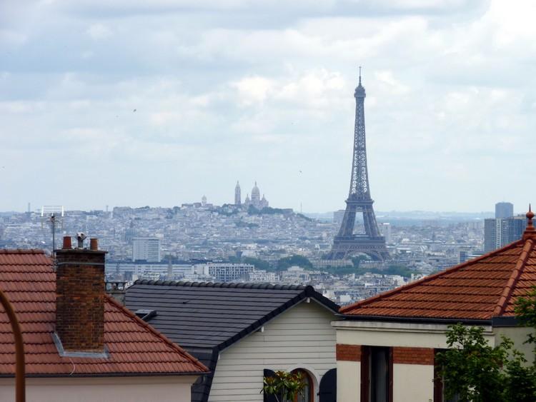 Tour Eiffel et Montmartre