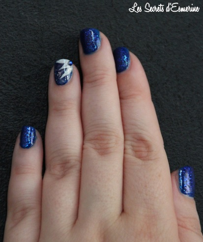 Like a Star Light... Ou le Kiko qui a fait Flop ! ink blue kiko, les secrets d'esmerine, nail art