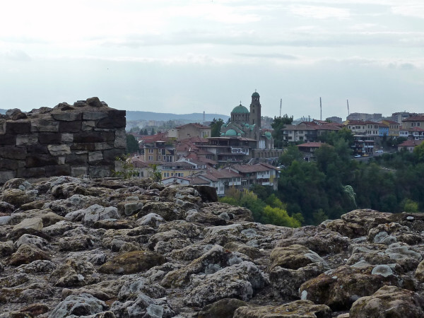 Jour 12 - Veliko Tarnovo - La ville depuis la citadelle