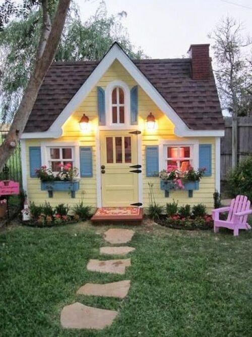 Maisons de jardins fantaisies
