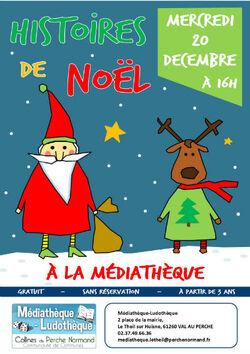 Histoires de Noël à la médiathèque