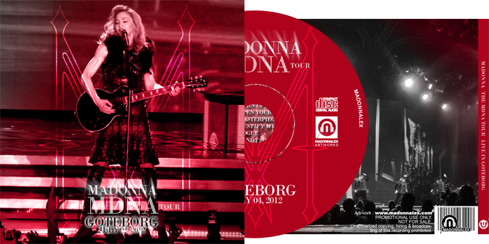 The MDNA Tour - Full Audio Goteborg