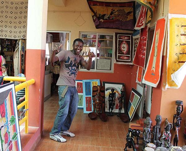 Sal Rei, accueil Capverdien