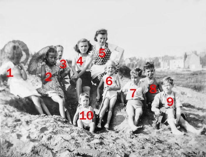 Vous reconnaissez-vous sur cette photo prise au Tomberg en... 1942 ?