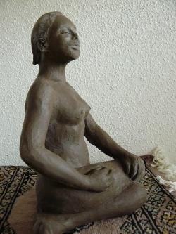 un petit air de posture de yoga