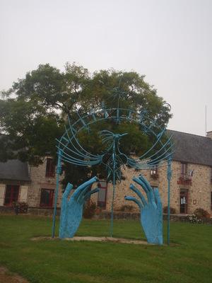 PROMENADE DANS LE BOURG DE GOSNE (Ille et Vilaine)