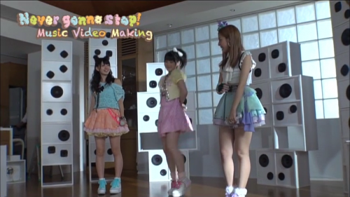"Buono! ""Never gonna stop"" Making-of Screenshots"