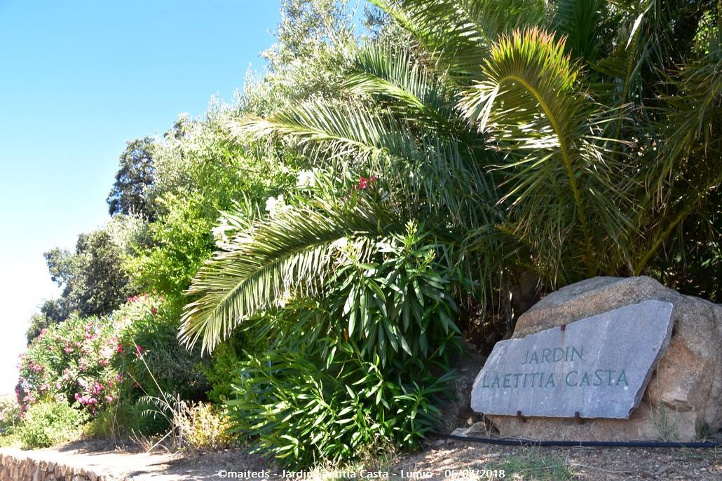 Jardin Laetitia Casta - Lumio - Corse
