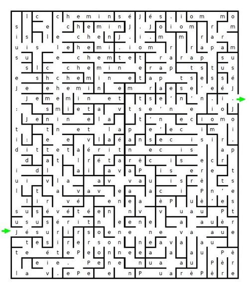 Versets en labyrinte