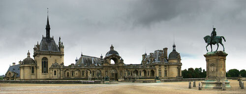 LE CHATEAU DE CHANTILLY