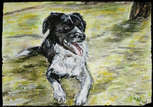 Le chien du poète