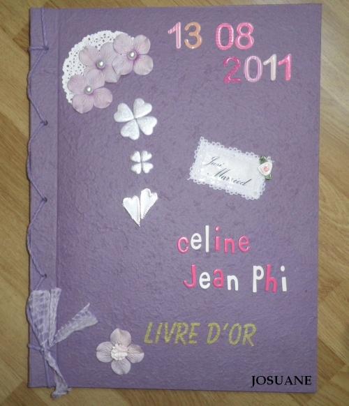 Livre d'Or du mariage du 13 août prochain et Boite Coeur