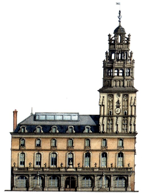 L'hôtel de ville