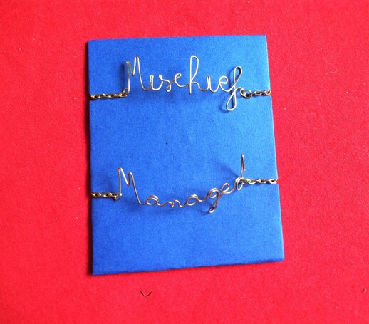 Tutoriel : Bracelet Mischief Managed