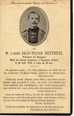 Guerre de 1914 - 1918