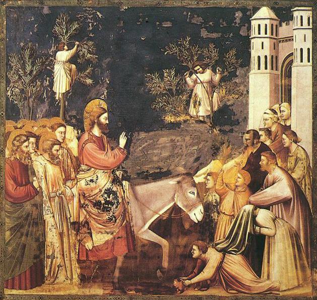 Christ Rameaux Jérusalem