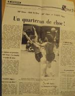MCA Handball 1986-1987 perd  son titre de Champion