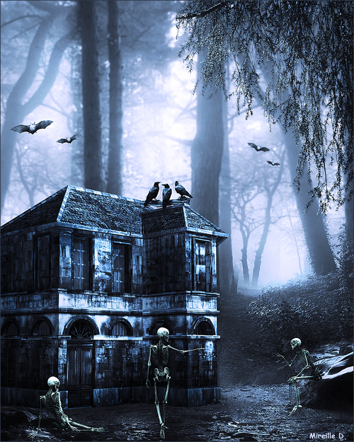 Refuge Halloween (Photomontage)