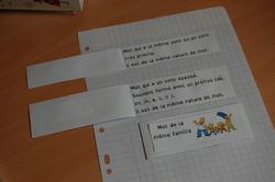 Mémo interactif termes de vocabulaire (CM1)