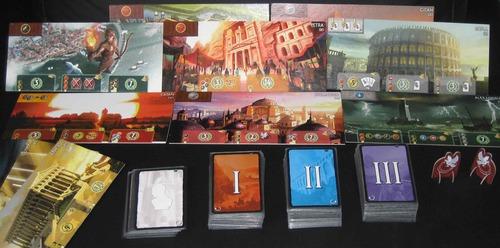 Seven Wonders: jouer en famille avec les 7 Merveilles du monde