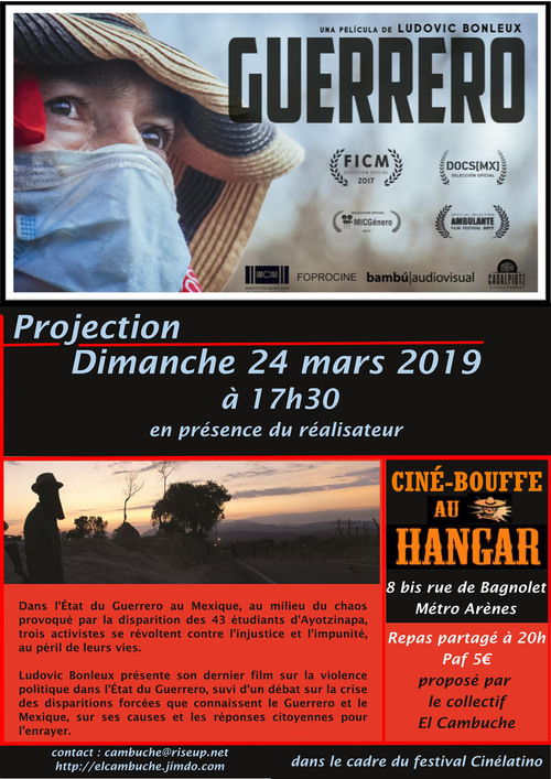 24 mars : Ciné-Bouff Cambuche