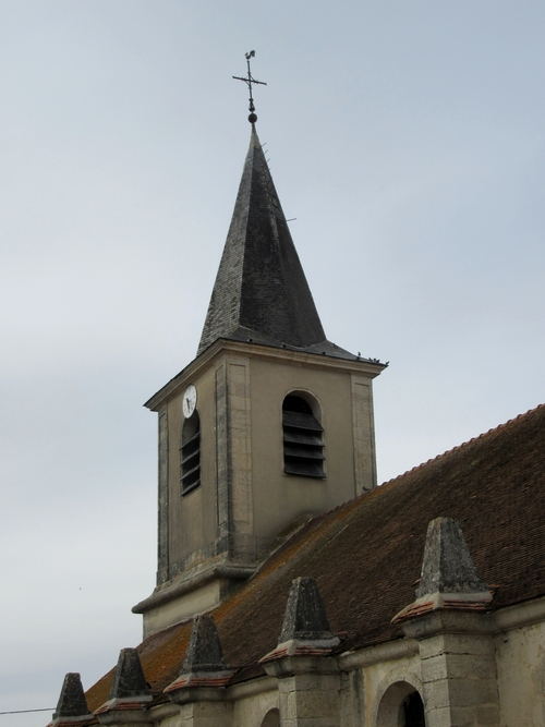 L'église de Cérilly