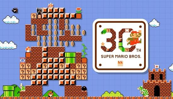Le site Japonais dédié au 30e anniversaire de Super Mario Bros. arrive en Français !