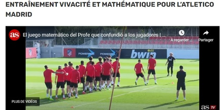 Les techniques d'entrainement insolites dans le football