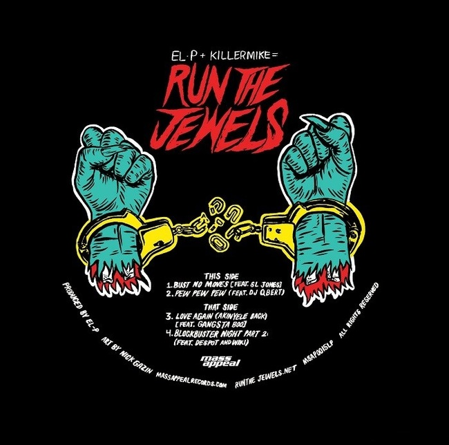 Run The Jewels - Blockbuster Night Part 2 EP (2015) [Hip Hop]