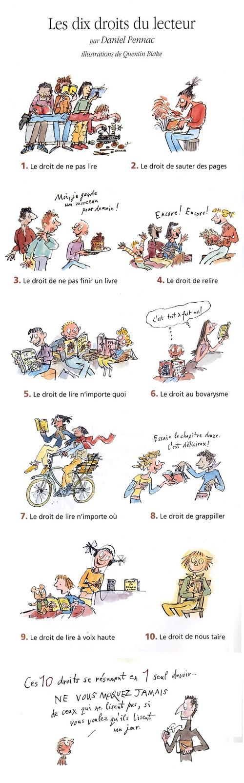 français : outils de lecture - marque-page - CM