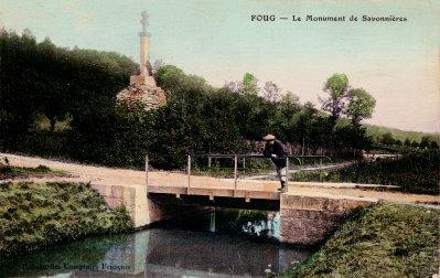 monument savon et prise d'eau