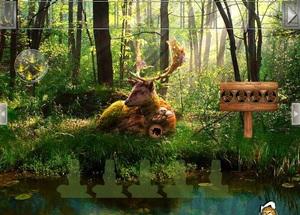 Jouer à Summer deer forest escape