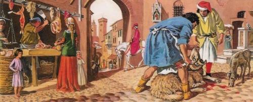 Le moyen-âge .... les rues... de vastes latrines