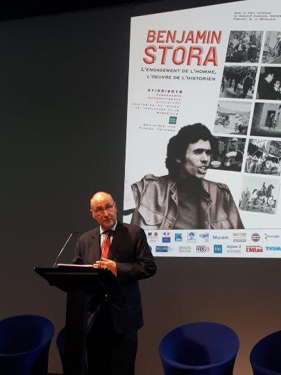 Discours de l'Ambassadeur de France en Algérie pour Benjamin Stora à la conférence internationale organisée au MUCEM