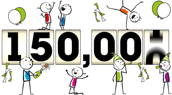 150 000 pages vues ... Merci !