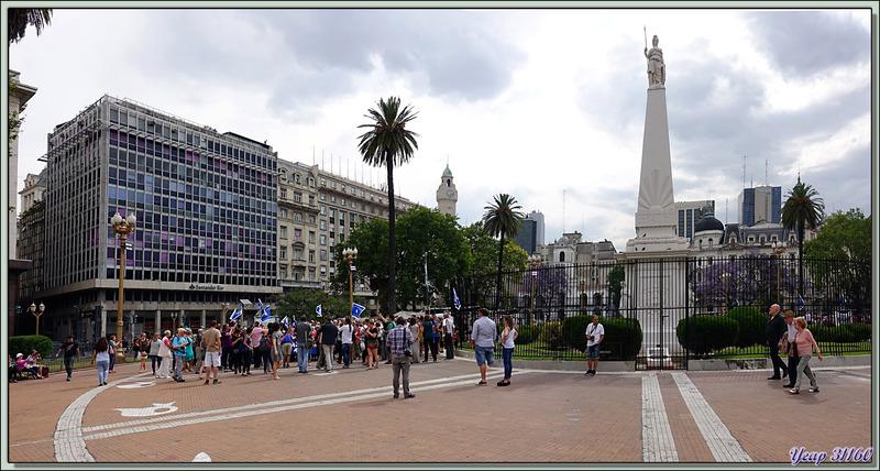 La Pirámide de Mayo - Plaza de Mayo - Buenos Aires - Argentine