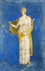 Médée, détail de fresque (Ier siècle), Stabie - Italie